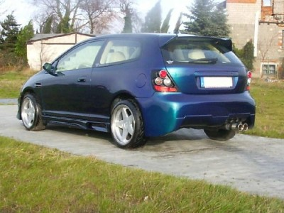 Honda Civic 01-05 DB9 Rear Bumper