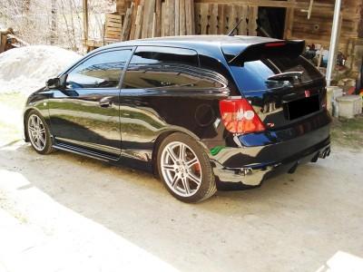 Honda Civic 01-05 Extensie Bara Spate Mugen-Look