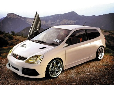 Honda Civic 01-05 Lambo Body Kit