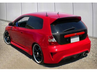 Honda Civic 01-05 M-Style Rear Bumper