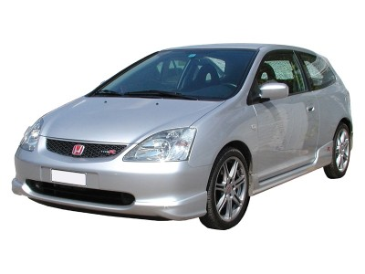 Honda Civic 01-05 R-Look Front Bumper Extension