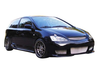 Honda Civic 01-05 Radical Front Bumper