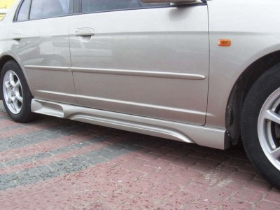 Honda Civic 01-05 Sedan DB9 Side Skirts