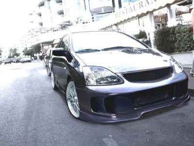 Honda Civic 01-05 Street Racing Front Bumper