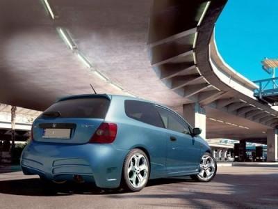 Honda Civic 01-05 V-Line Rear Bumper