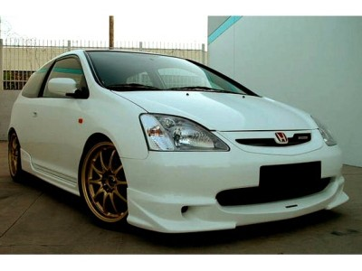 Honda Civic 04-05 Mugen-Look Front Bumper Extension