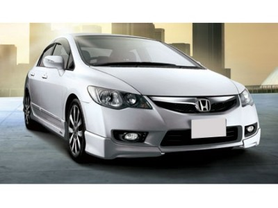 Honda Civic 09-12 ModX Front Bumper Extension
