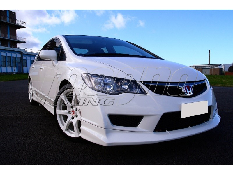 Honda Civic 09-12 Type-R-Look Front Bumper Extension