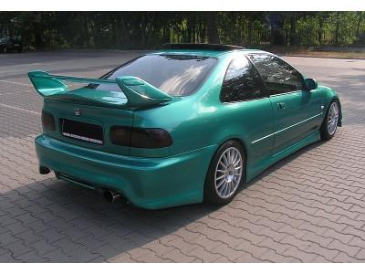Honda Civic 92-95 Coupe J-Style Rear Bumper