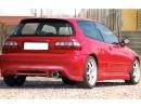 Honda Civic 92-95 J-Style Rear Bumper