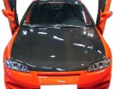 Honda Civic 92-96 Capota OEM Fibra De Carbon