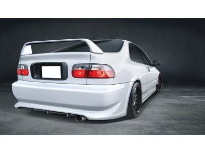 Honda Civic 92-96 Coupe SX Rear Bumper