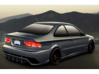 Honda Civic 92-96 Coupe VX Rear Bumper