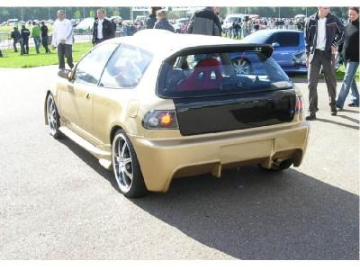 Honda Civic 92-96 Drifter Rear Bumper