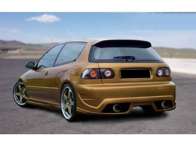 Honda Civic 92-96 M-Style Rear Bumper