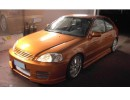 Honda Civic 96-00 Bara Fata GhostRider