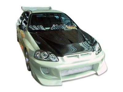 Honda Civic 96-00 Capota R-Line Fibra De Carbon