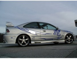 Honda Civic 96-00 Coupe Twisted Side Skirts