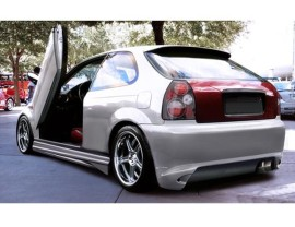 Honda Civic 96-00 GhostRider Rear Bumper