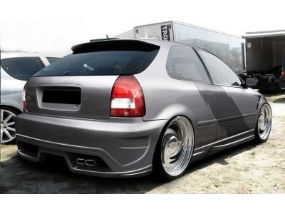 Honda Civic 96-00 M-Style Rear Bumper