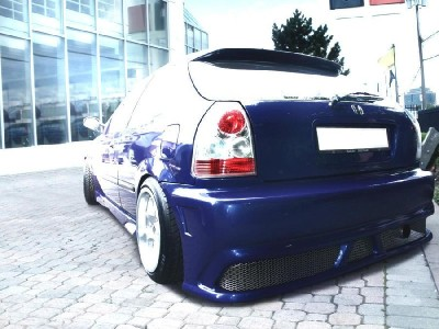 Honda Civic 96-00 OldSchool Rear Bumper