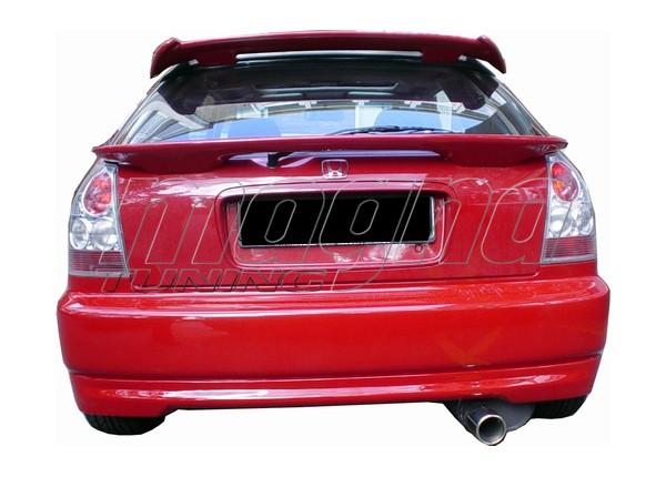 Honda Civic 96-00 Type-R Look Rear Bumper Extension