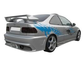 Honda Civic 96-01 Aggressive Rear Bumper