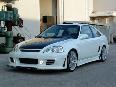 Honda Civic 96-01 Coupe Apex Body Kit