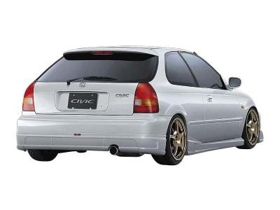 Honda Civic 96-01 Tokyo Rear Bumper Extension