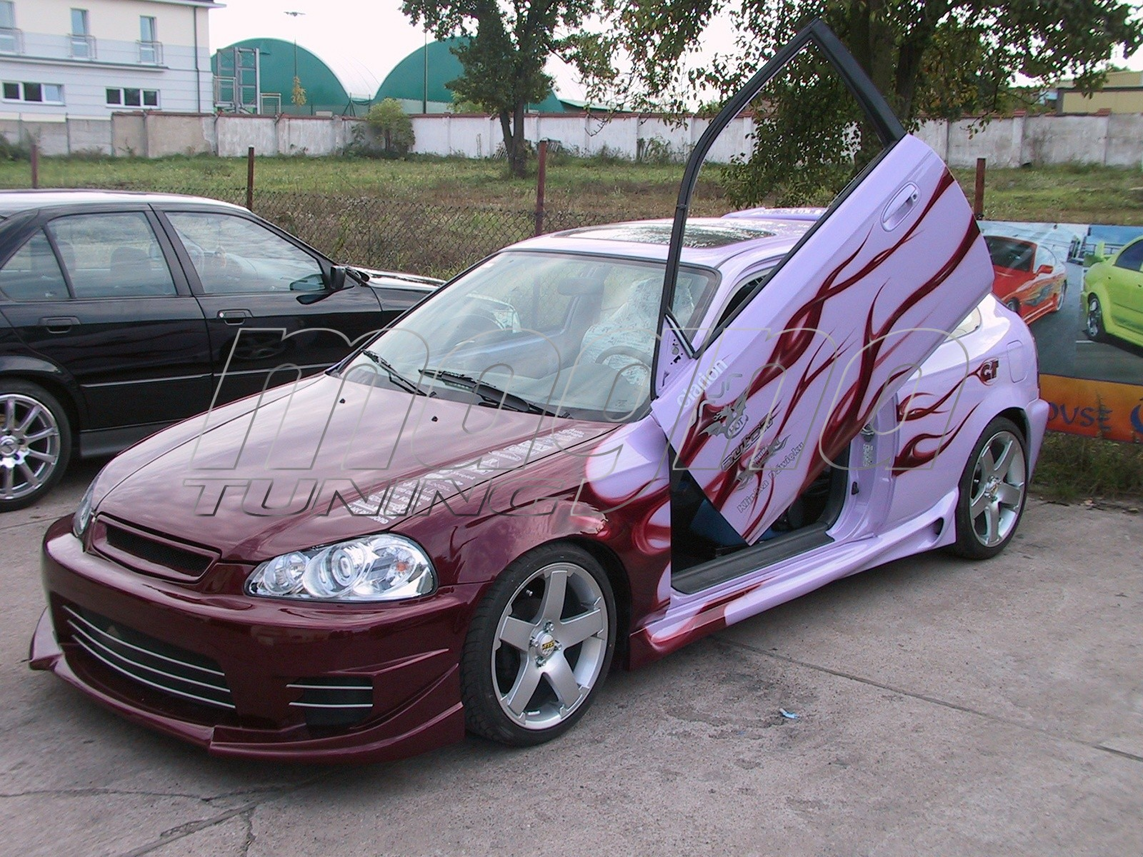 Honda Civic 96-98 Warrior Front Bumper