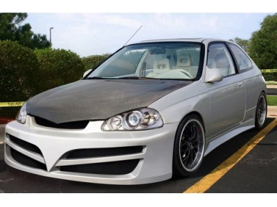 Honda Civic 96-99 V-Line Front Bumper