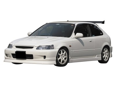Honda Civic 99-00 Radical Front Bumper Extension