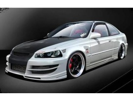 Honda Civic Coupe A-Style Body Kit