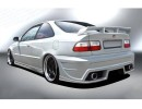 Honda Civic Coupe A-Style Rear Bumper