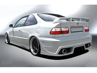 Honda Civic Coupe A-Style Rear Bumper