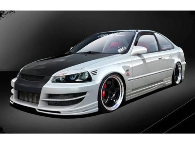 Honda Civic Coupe A-Style Side Skirts