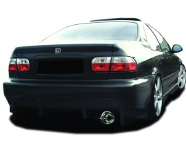 Honda Civic Coupe Kormoran Rear Bumper