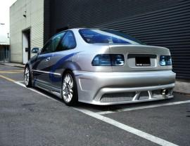 Honda Civic Coupe OldSchool Rear Bumper