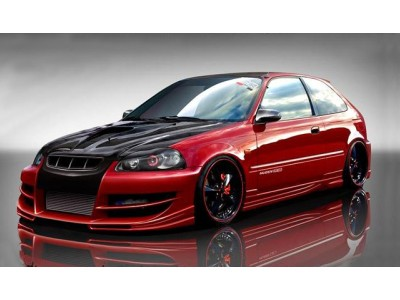 Honda Civic Facelift A2 Frontstossstange