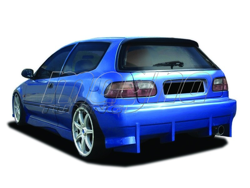 Honda Civic Hatchback Kormoran Rear Bumper