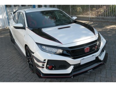 Honda Civic MK10 Type-R MX Front Bumper Extension