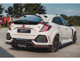 Honda Civic MK10 Type-R Master Rear Bumper Extension