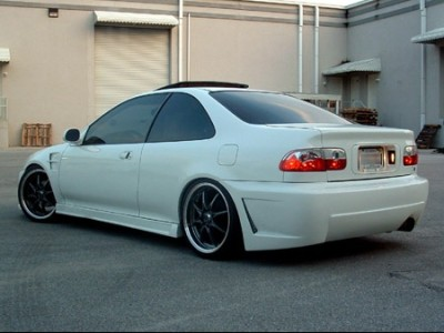 Honda Civic MK5 Coupe Apex Rear Bumper