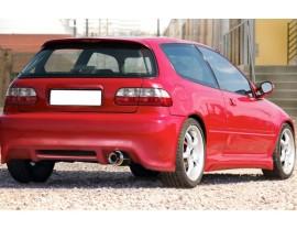 Honda Civic MK5 J-Style Rear Bumper
