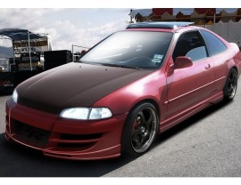 Honda Civic MK5 M2-Style Side Skirts