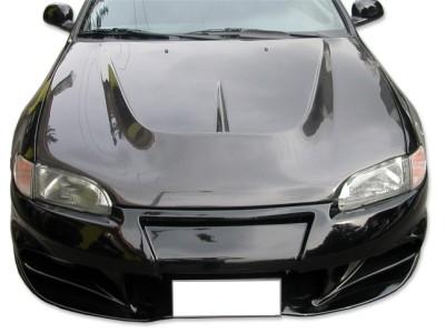 Honda Civic MK5 R-Line Carbon Motorhaube