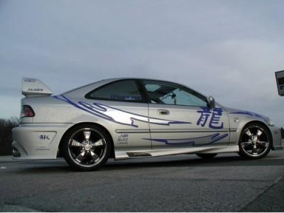 Honda Civic MK6 Coupe Twisted Seitenschwellern