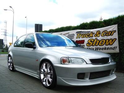 Honda Civic MK6 Extensie Bara Fata J-Style