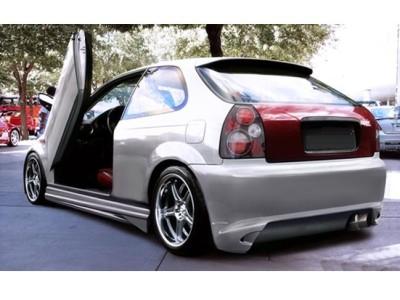 Honda Civic MK6 GhostRider Rear Bumper