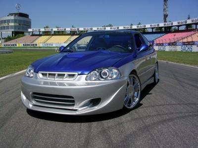 Honda Civic MK6 S-Style Front Bumper